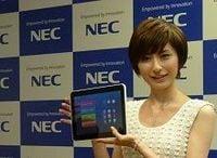 NECが10インチ液晶の新型タブレット端末を発売、個人・企業向け2モデル展開