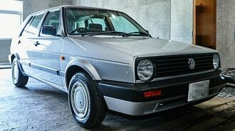 VW「ゴルフⅡ」30年経っても根強い人気を誇る理由