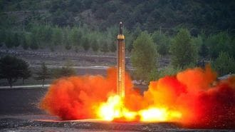 北朝鮮、「弾道ミサイル日本列島超え」の意図