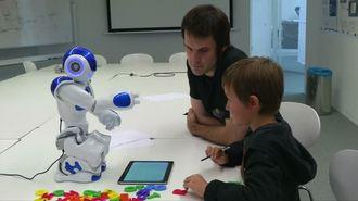 ダメロボットが、学校の落ちこぼれを無くす