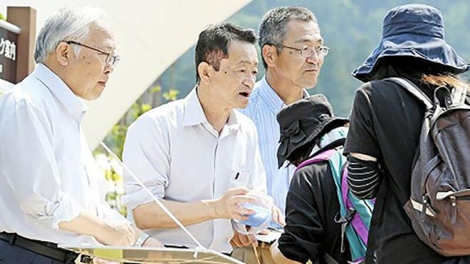 拉致被害者地村さん、帰国以来の署名活動