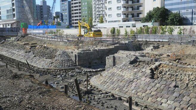 保存めぐり注目「高輪築堤」が持つ歴史的価値