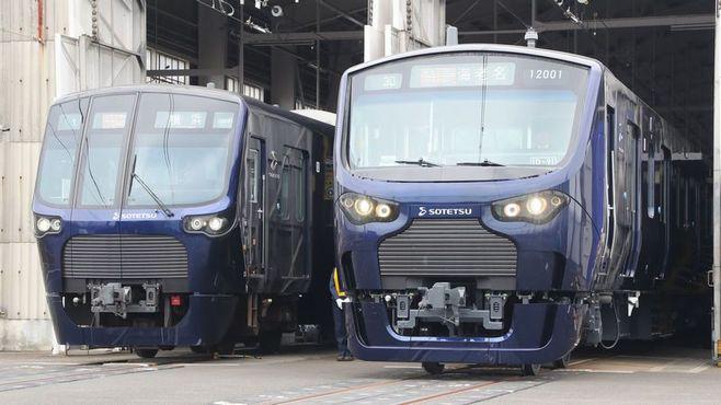 相鉄「都心直通」2つの新型車両はここまで違う