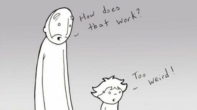 パパが幼い息子に教えたい他人への共感と愛