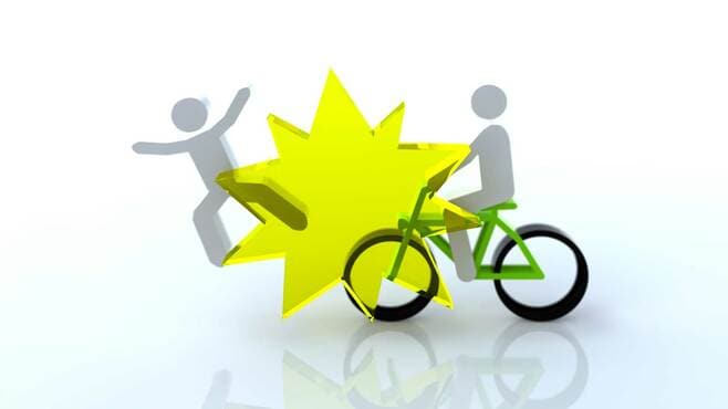 9500万円の賠償も!自転車事故の恐ろしい実態