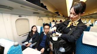 新幹線車内販売、「神泡」ビールが流れを変える?