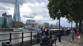 ロンドンの観光客はテロくらいで減らない