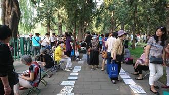 「北京お見合い広場」に親たちが殺到するワケ