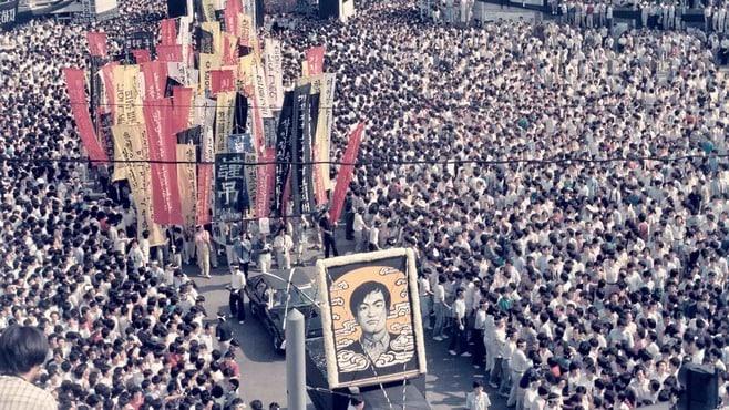 韓国の民主化「栄光の6月」を台湾の学生が学ぶ
