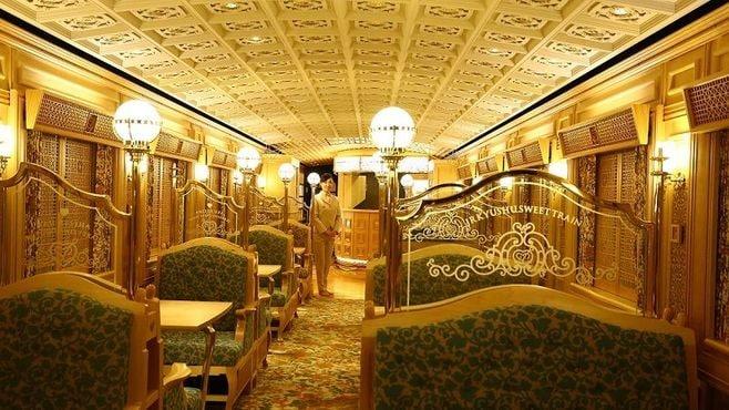 JR九州「或る列車」でシンデレラ気分を満喫!