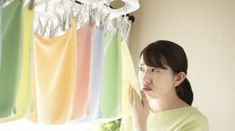 梅雨の洗濯で悩ましい「部屋干し臭」にひと工夫