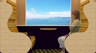 JR西「新たな寝台列車」デザインは前代未聞だ