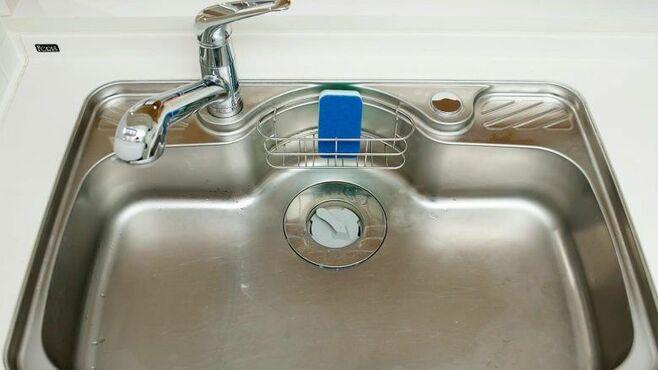 キッチンシンクや排水口を「清潔に保つ」掃除術
