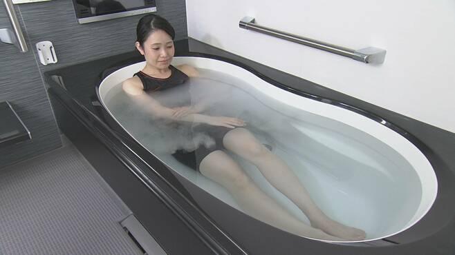 浸かるだけで体をキレイに「夢のお風呂」の値打