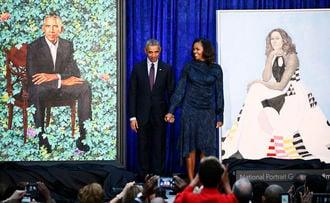 これがスミソニアン「オバマ夫妻肖像画」だ