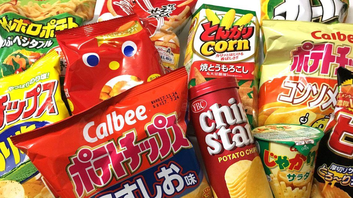 公開!売れ筋「スナック菓子」トップ100商品   世界の(ショーバイ)商売 ...