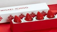 MIGAKI-ICHIGO: Japan's Tech-Savvy Strawberry