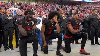 トランプ大統領、「NFL選手を侮辱」の深刻度