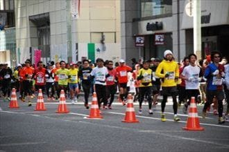 準備ゼロから東京マラソンを完走する方法