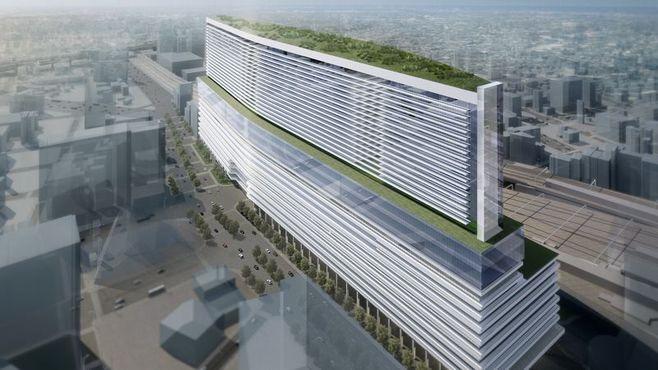 名鉄の名古屋駅新ビルが400mもある理由