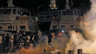 サッカー欧州選手権、「乱闘続出」の異常事態