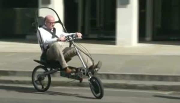 """これが究極に安全な""""事故らない自転車""""だ!"""