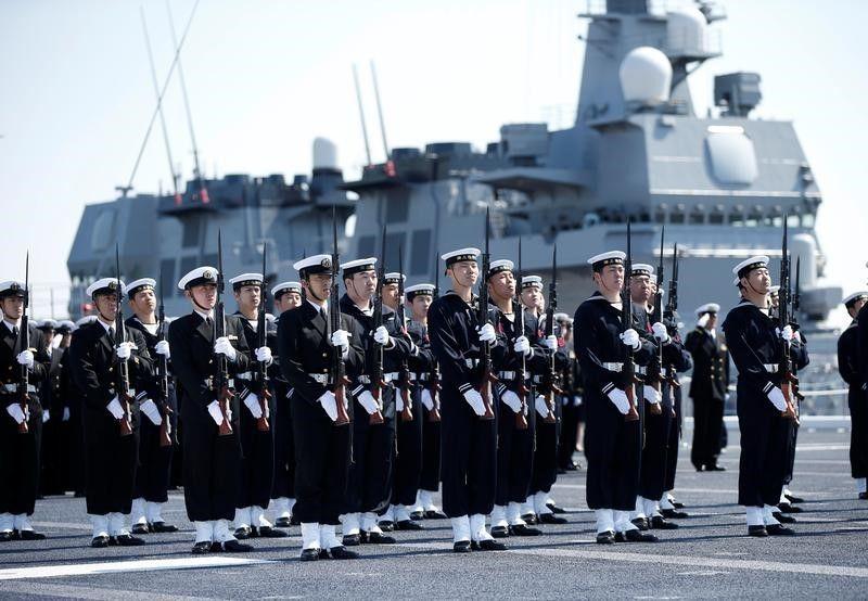 護衛艦「かが」就役、海自のヘリ空母4隻体制に | ロイター | 東洋経済 ...