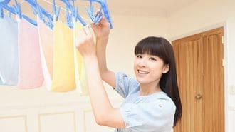 雨の日に洗濯物の生乾きを防ぐテクとは?