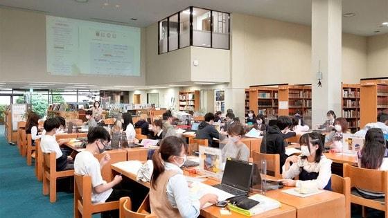中大附属「図書館で授業」の浸透ぶりがスゴすぎた
