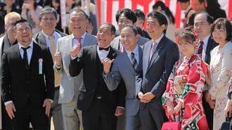 安倍前首相、「桜」疑惑はなぜいま再燃したのか