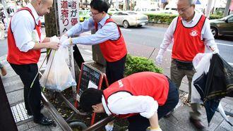 渋谷駅「ゴミ拾い競技」、1位は何kg集めたか