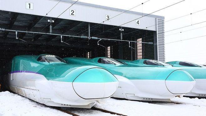 北海道新幹線の車両は「荷物輸送」に使える!