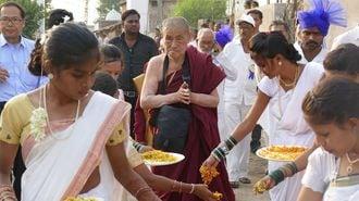 インドで1億5千万人を導く日本人僧侶の人生