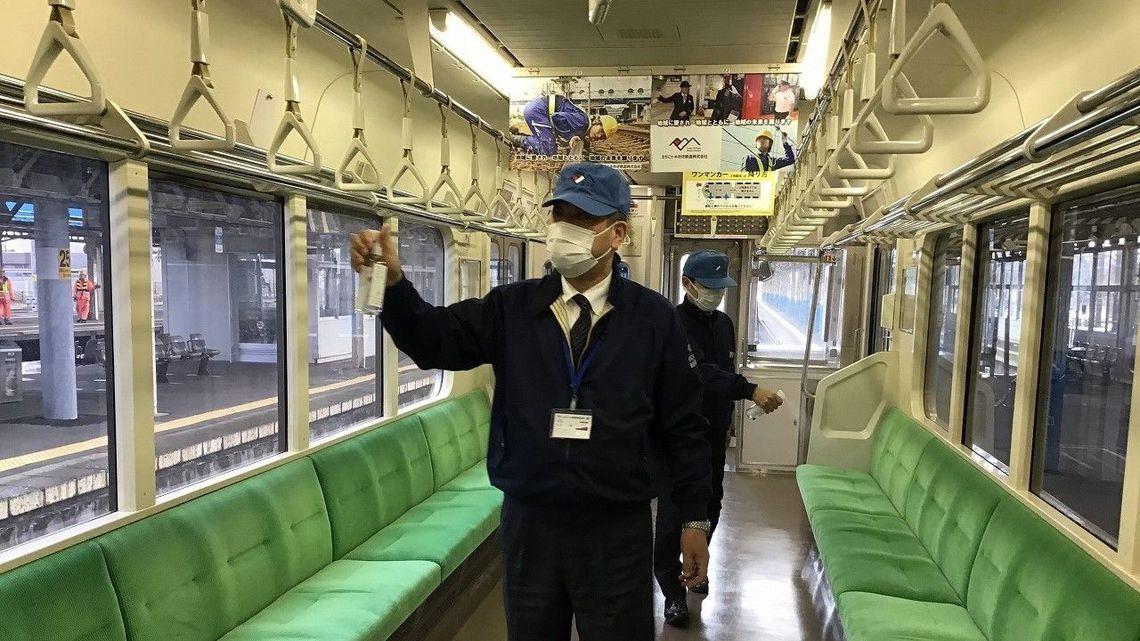 リスク 電車 コロナ
