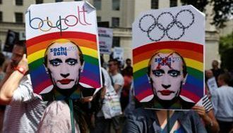 反LGBT法で世界中から非難を受けるロシア