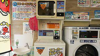 コインランドリーの「靴洗濯機」を使ってみた