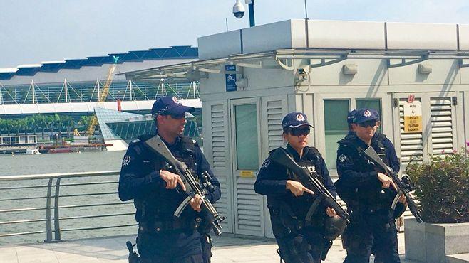 米朝首脳会談の舞台で警戒されるテロの脅威