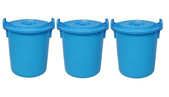 あの青いゴミ箱のルーツは「肥桶」だった
