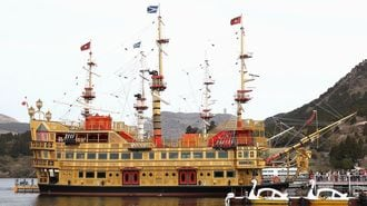 大砲のない「海賊船」は水戸岡デザインの真髄だ
