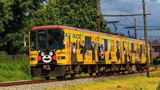 熊本電鉄、「くまモン電車」の効果は絶大だった