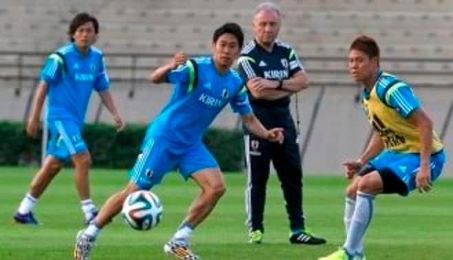 サッカー日本代表は「たらこスパゲッティ」だ