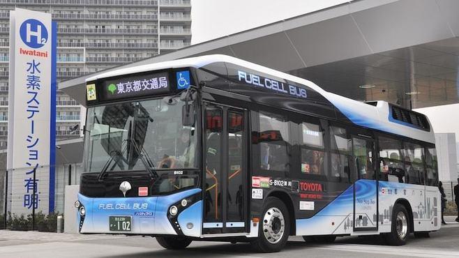 「燃料電池バス」が握る?水素社会実現のカギ