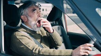 寝不足時の運転があまりにヤバい科学的根拠