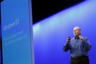 米マイクロソフトのバルマーCEO、退任へ