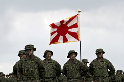 Japan activates first marines since WW2