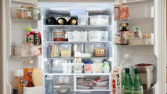 冷蔵庫の限られた場所に「スッキリ入る」整理術