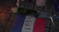 People in Japan Pay Tribute to Paris Shooting Victims