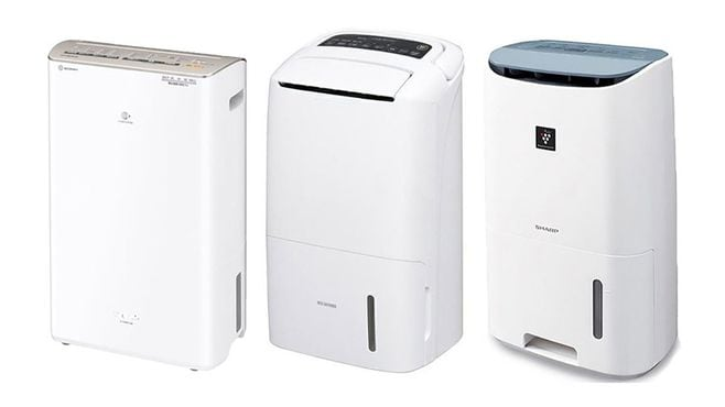 蒸し暑い季節に便利!「衣類乾燥除湿器」5選