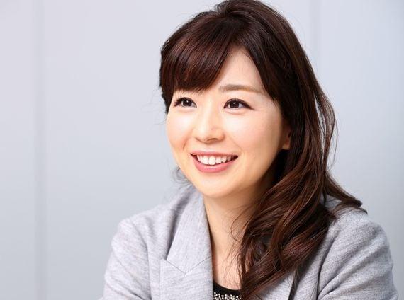 笑顔が素敵な松尾由美子