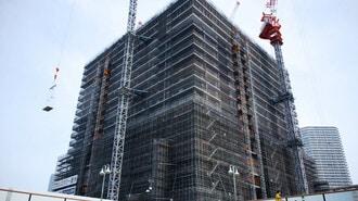 新築マンション、発売絞っても高値維持の限界
